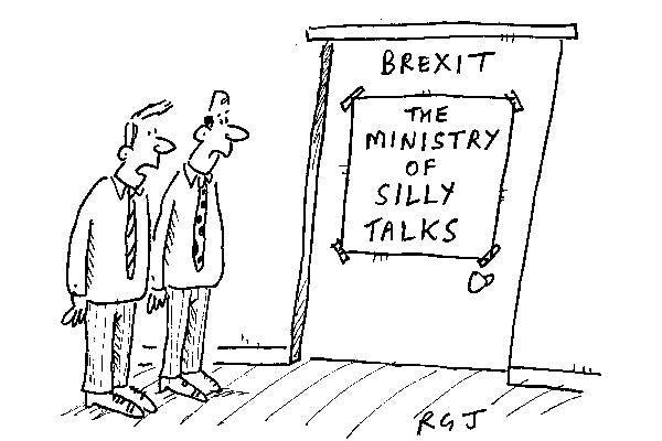 'Looks like they're finding the discussions frustrating.'