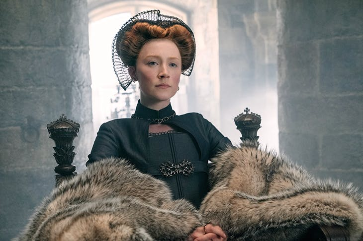 Better than the film deserves: Saoirse Ronan as Mary Queen of Scots