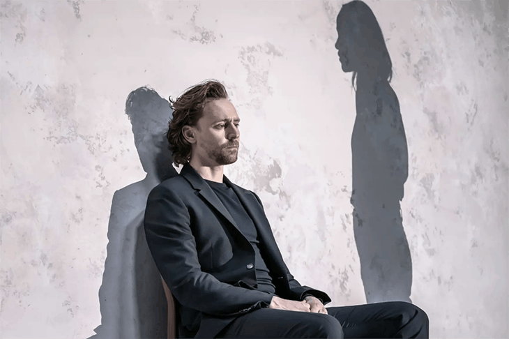 Tom Hiddleston in Betrayal at the Harold Pinter Theatre. Photo: Marc Brenner