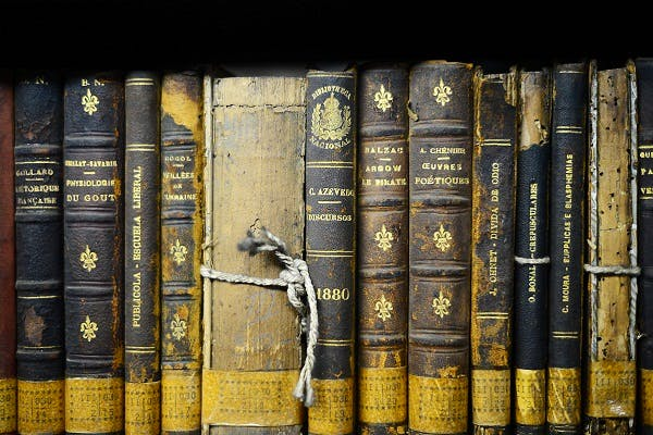 Old books, Getty Images