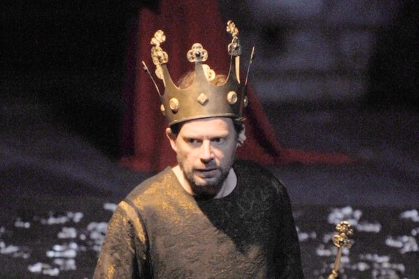 Denis Podalydes plays Richard III. Picture: Getty.