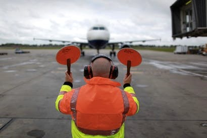 The policy not to have a policy on Heathrow until 2015 exudes a bureaucratic air. Picture: Getty.