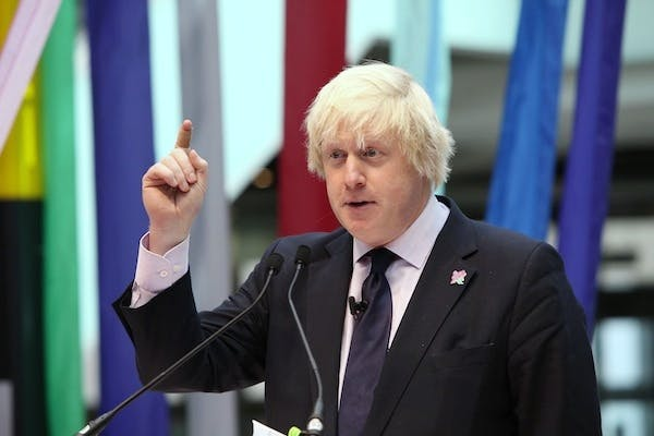 Boris Johnson today appealed to London Assembly members to join him in his campaign against Heathrow expansion. Picture: Getty.