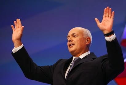 Iain Duncan Smith must beware of ignoring warning signs about the implementation of the universal credit. Picture: Getty.