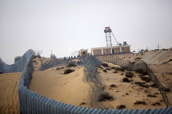 Israel is no position to reoccupy the Sinai. Picture: Getty.