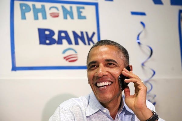 Barack Obama received a bigger boost in the polls after his party's convention than Mitt Romney. Picture: Getty.
