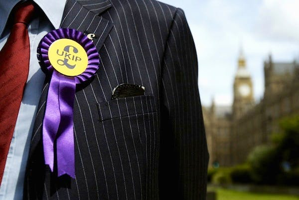 MPs agreeing to stand as joint UKIP/Tory candidates would be hugely destabilising for the Conservative party. Picture: Getty.