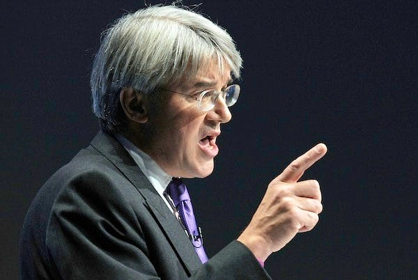 Andrew Mitchell allegedly called policemen outside Downing Street f***ing plebs. Picture: Getty.