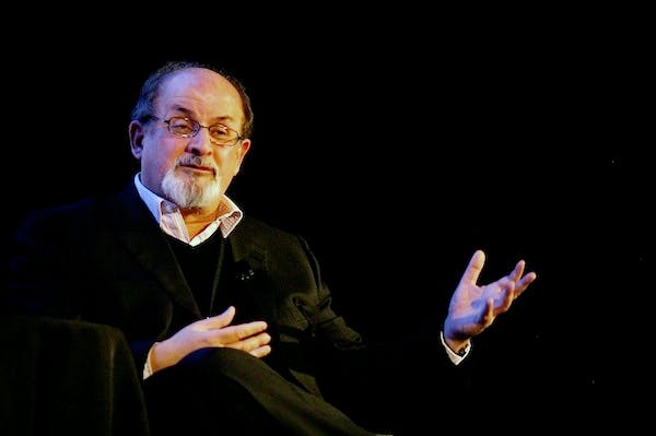 Ayatollah Hassan Sanei has upped the bounty for Salman Rushdie's assassination by $500,000. Picture: Getty.