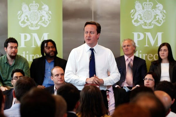 David Cameron has a habit of letting big policy details slip without warning. Picture: Getty
