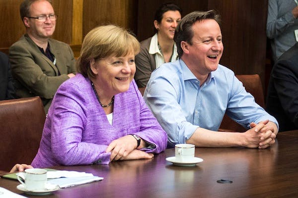 Angela Merkel knows she needs to display some impatience with David Cameron's demands on the EU Budget. Picture: Getty