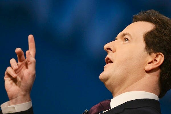 Expect George Osborne to use today's GDP figures as fuel for claims that the economy is 'healing'. Picture: Getty