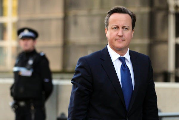 David Cameron will today announce a 'tough but intelligent' approach to offenders. Picture: Getty