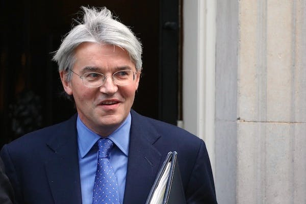 Andrew Mitchell leaves Number 10 after yesterday's Cabinet meeting. Picture: Getty