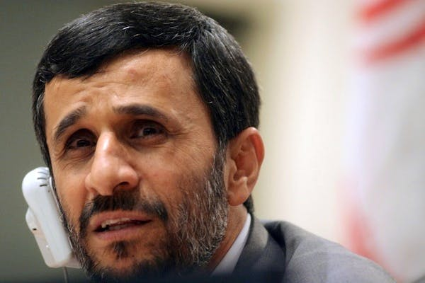 Mahmoud Ahmadinejad has been barred from visiting an aide in jail. Picture: Getty