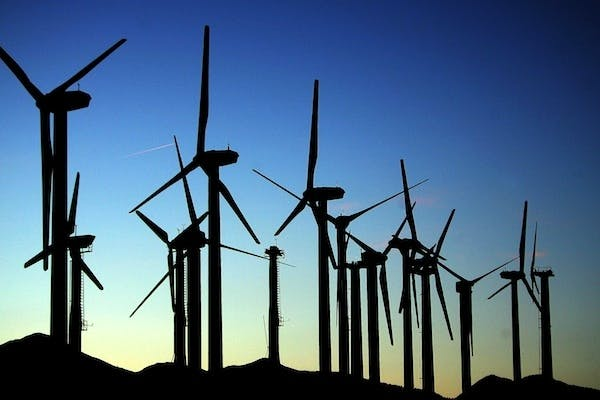John Hayes sparked a row today with comments about the future of wind farms. Picture: Getty