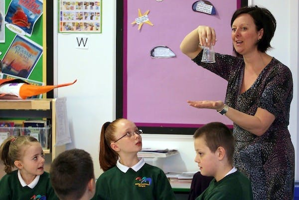 Labour argues that the government's reforms to teacher training are inconsistent with the decision to allow schools to hire unqualified teachers. Picture: Getty