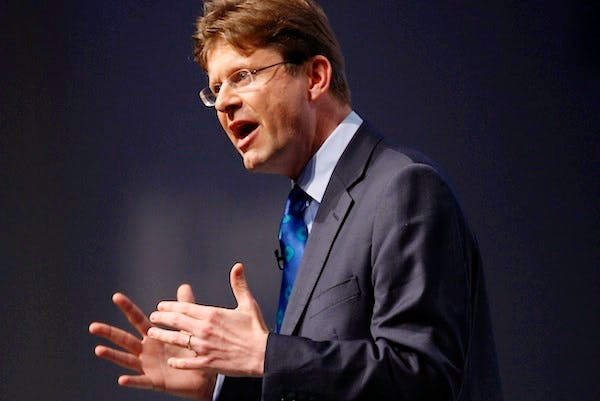 Greg Clark told the Financial Times he had seen 'encouraging signs' in the City of London. Picture: Press Association