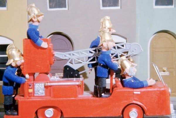 The fire brigade on call in Trumpton. Picture: Getty