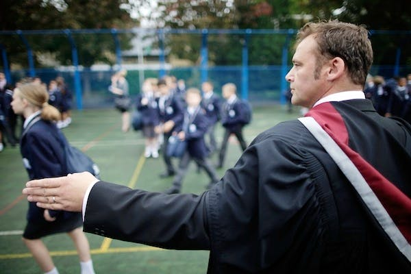 Pupils at the West London Free School. Picture: Getty