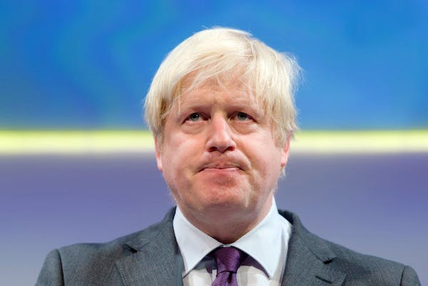 Boris Johnson this evening backtracked on his previous calls for an In/Out referendum. Picture: Getty