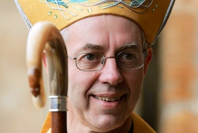 New Archbishop of Canterbury Justin Welby. Picture: PA