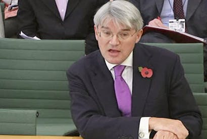 Andrew Mitchell gives evidence to the International Development select committee.