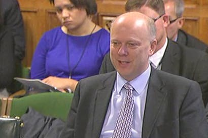 Chris Grayling gave evidence to the Justice Select Committee this morning.