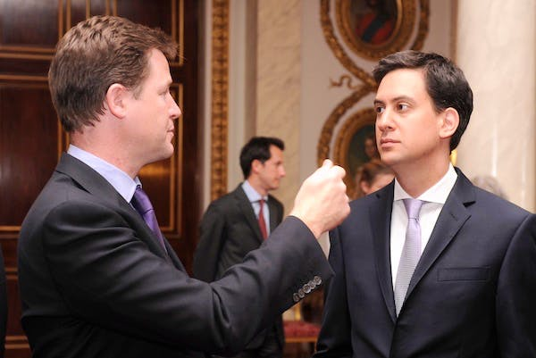 Ed Miliband and Nick Clegg have held talks about Labour's draft bill on press regulation. Picture: Getty