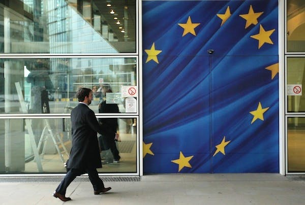 Tobias Ellwood's paper argues that Westminster politicians are poor at engaging with Brussels. Picture: Getty