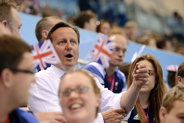 2013 may well have fewer opportunities to cheer, but Cameron's new year message tells voters to hold their nerve. Picture: Getty