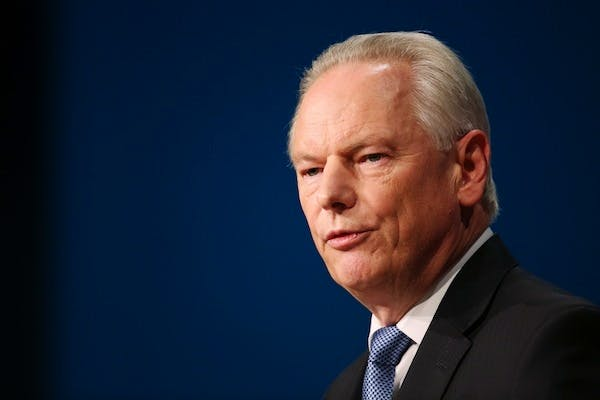 Francis Maude announced further reforms to the civil service today. Picture: Getty