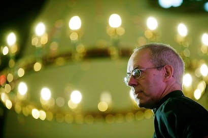 Justin Welby will meet MPs and peers on Thursday to discuss women bishops. Picture: Getty