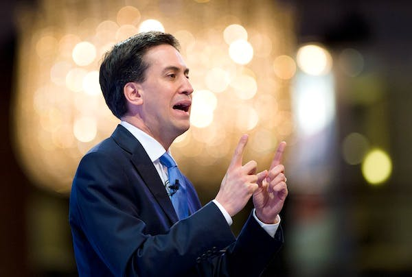 Ed Miliband is making noises about opposing the government's latest benefits cut. Picture: Getty