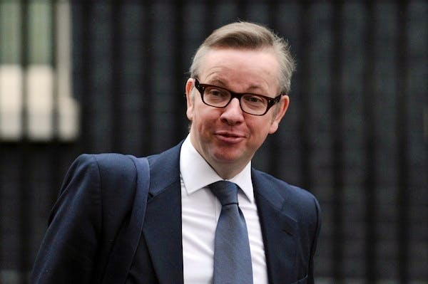 Michael Gove was held up as an example at Cabinet today of a minister who was successfully cutting departmental spending. Picture: Getty