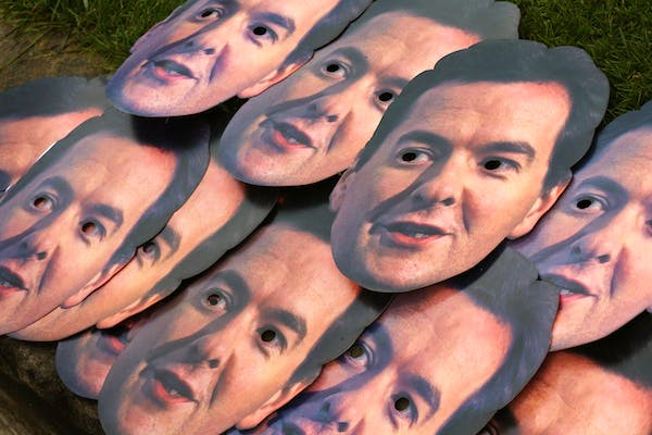 George Osborne chose to focus on the 'strivers' in his statement. Picture: Getty