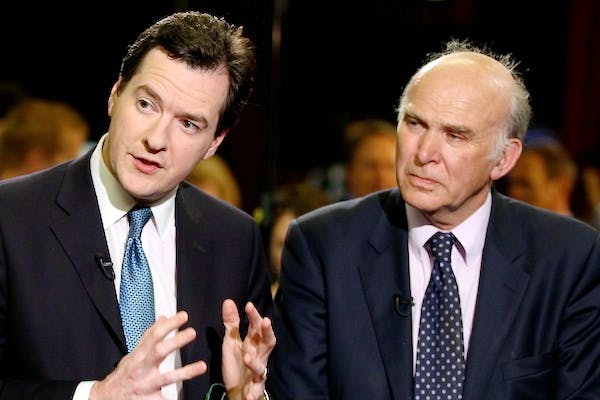 Vince Cable made it clear he objected to some of the language used by George Osborne about benefit claimants. Picture: Getty