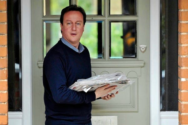 David Cameron will apply pressure to newspaper editors to set up a new press regulator quickly. Picture: Getty