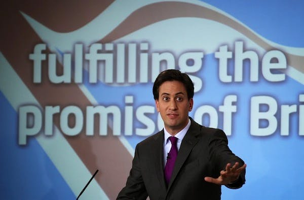 Ed Miliband has a group of MPs in his own party who want a referendum on Europe. Picture: Getty