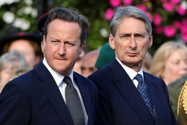 Philip Hammond said David Cameron's pledge to see defence spending rising from 2015 only referred to the equipment budget. Picture: Getty