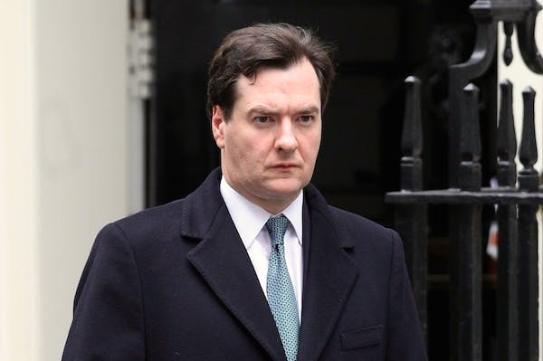 George Osborne had stayed 'submerged' on the matter of bankers' bonuses. Picture: Getty