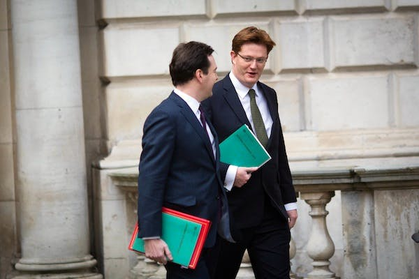 George Osborne and Danny Alexander briefed the Cabinet today on the 2015/16 spending review. Picture: Getty