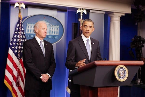 President Obama gives a statement after Congress agreed on a deal to avert the fiscal cliff. Picture: Getty