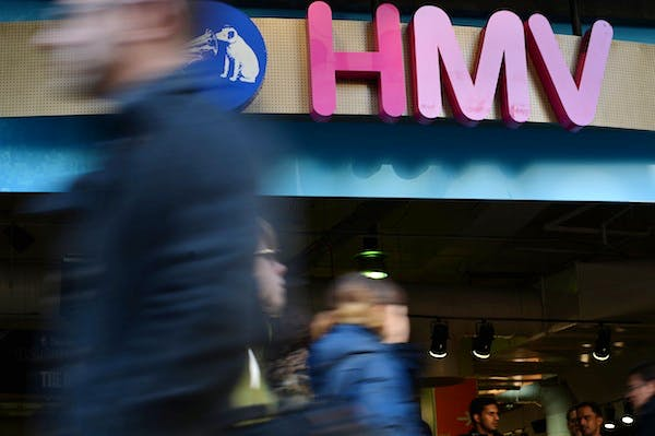 HMV has called in the administrators. Picture: Getty