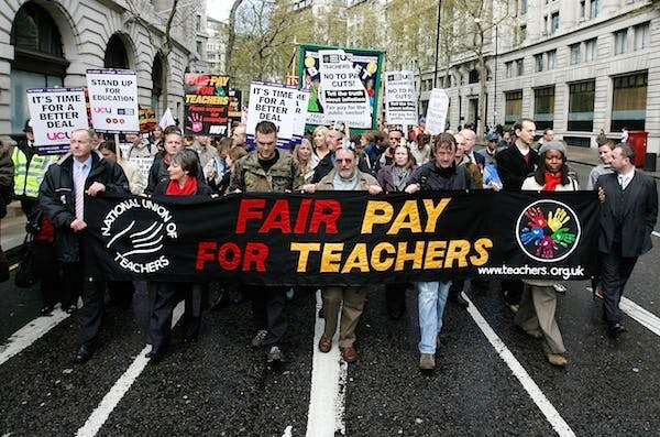 The teaching unions are threatening further industrial action this year. Picture: Getty