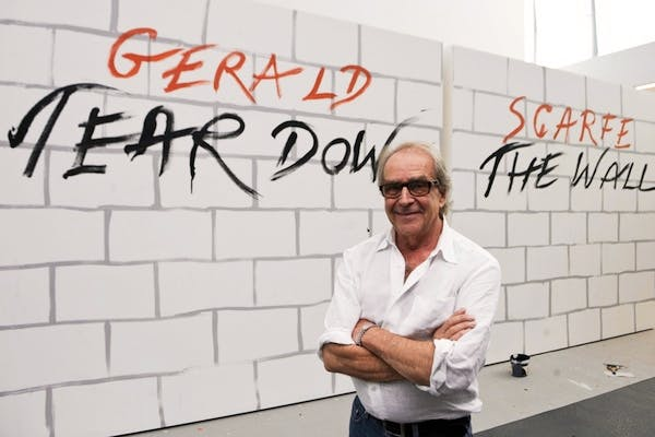 'No gloss, no wit, no political nuance, no juxtaposition' - Charles Moore on Gerald Scarfe. Picture: Getty