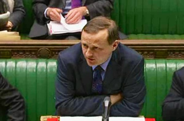 Steve Webb answering questions in the Commons today.