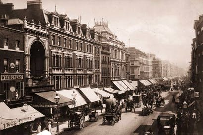 Oxford Street, London, in 1890