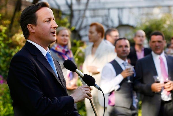 David Cameron is personally committed to gay marriage, but how does he persuade MPs who are wavering? Picture: Getty