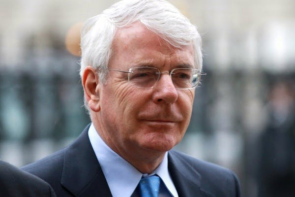Sir John Major gave David Cameron some advice on his European strategy today. Picture: Getty